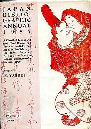 Japan Bibliographic Annual 1957