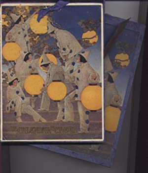 The Calendar of Cheer. 1925 Calendar with Cover Design By Maxfield Parrish: Maxfield Parrish