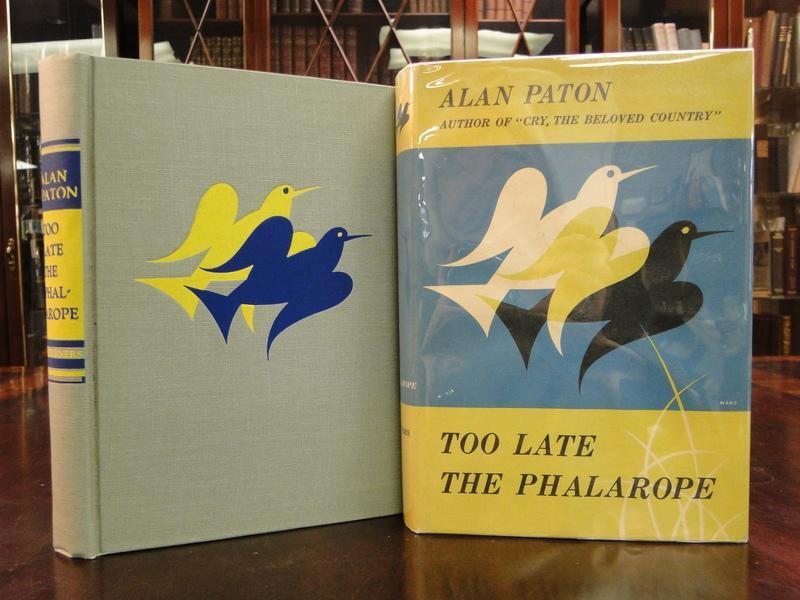 TOO LATE THE PHALAROPE Paton, Alan Fine Hardcover