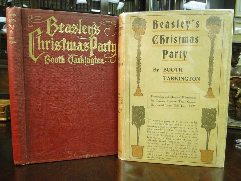 BEASLEY'S CHRISTMAS PARTY - 1909 - 1st Edition Tarkington, Booth Very Good Hardcover