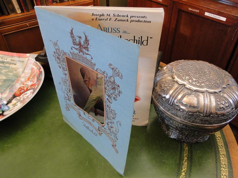 George Arliss In The House Of Rothschild Near Fine Softcover