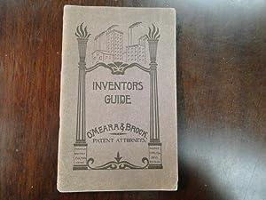 INVENTOR'S GUIDE: O'Meara, Jno. U. & Chas. E. Brock