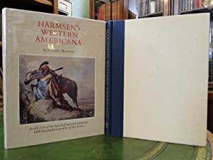 HARMSEN'S WESTERN AMERICANA a Collection of One Hundred Western Paintings with Biographical ...