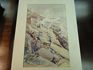 MOUNT DESERT ISLAND, MAINE - Original Art -not a Book