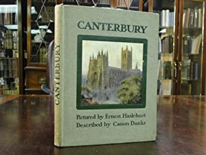 CANTERBURY: Danks, Canon; Ernest Haslehust Illustrator