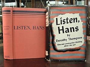 LISTEN, HANS: Thompson, Dorothy