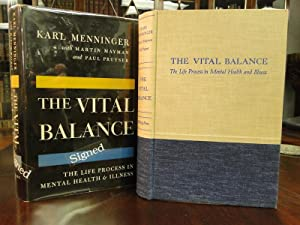 THE VITAL BALANCE - Signed First Edition