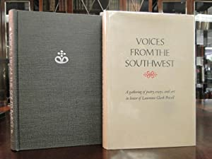VOICES FROM THE SOUTHWEST - A Gathering of Poetry, Essays, and Art in Honor of Lawrence Clark ...