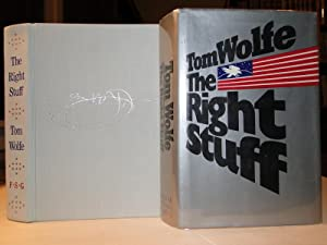 THE RIGHT STUFF - 1st Edition, 1st Printing