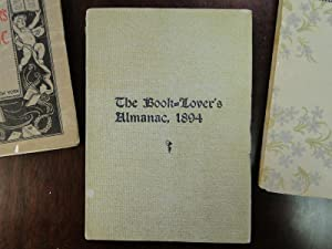 THE BOOK-LOVERS ALMANAC FOR THE YEAR 1894