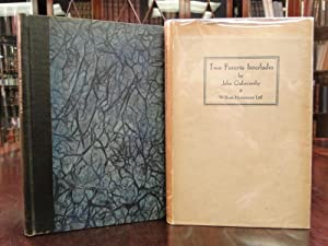 TWO FORSYTE INTERLUDES - Signed