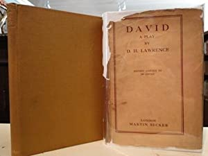 DAVID a Play: Lawrence, D.H.