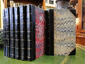 THE POETICAL WORKS OF SIR WALTER SCOTT - Seven Volumes