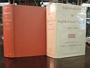 BIBLIOGRAPHY OF ENGLISH PRINTED TRAGEDY 1565-1900