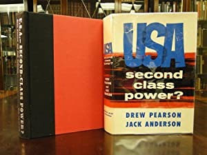 USA SECOND CLASS POWER?: Pearson, Drew and Jack Anderson