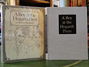 A BOY AT THE HOGARTH PRESS - Signed