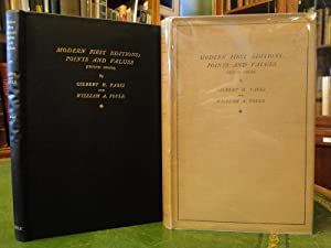 MODERN FIRST EDITIONS: POINTS AND VALUES - Signed