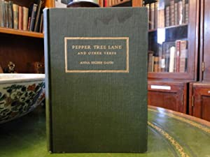 PEPPER TREE LANE AND OTHER VERSE - Signed