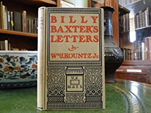 BILLY BAXTER'S LETTERS: Kountz, Wm.J. Jr.