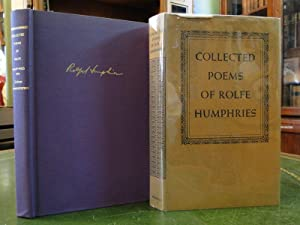 COLLECTED POEMS OF ROLFE HUMPHRIES: Humphries, Rolfe