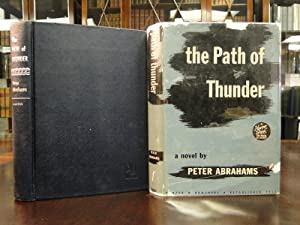 THE PATH OF THUNDER: Abrahams, Peter