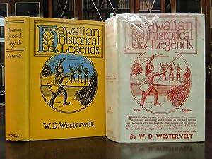 HAWAIIAN HISTORICAL LEGENDS: Westervelt, W.D.