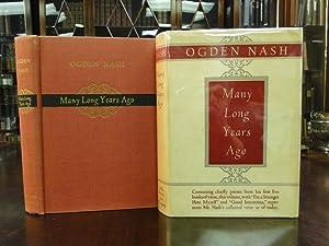 MANY LONG YEARS AGO: Nash, Ogden