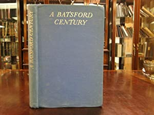 BATSFORD CENTURY the Record of a Hundred Years of Publishing and Bookselling 1843-1943