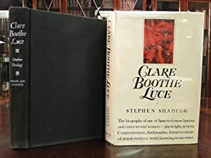 CLARE BOOTHE LUCE a Biography - Signed