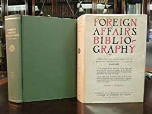 FOREIGN AFFAIRS BIBILIOGRAPHY 1942-1952