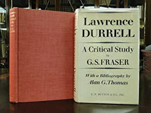 LAWRENCE DURRELL a Critical Study: Fraser, G.S.