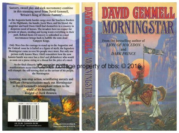 Morningstar - Gemmell, David