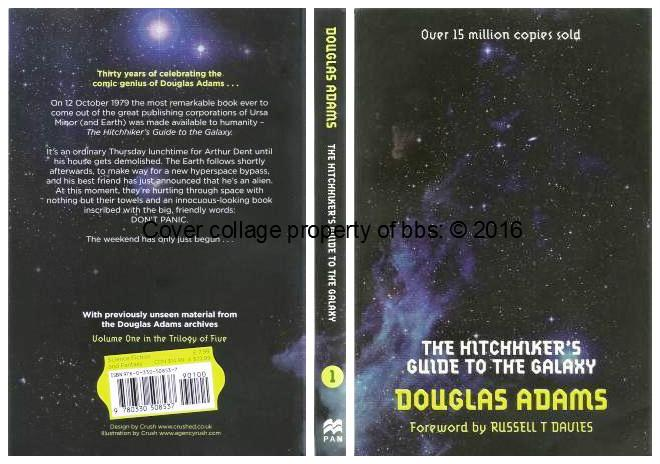hitchhikers guide to the galaxy satire