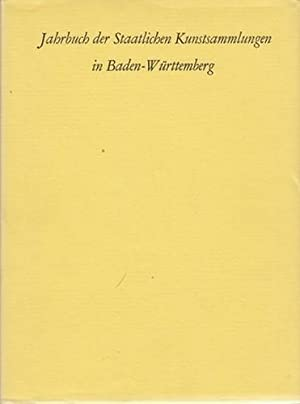 Jahrbuch der Staatlichen Kunstsammlungen in Baden-Württemberg, Band 6, 1969.: Staatliche ...
