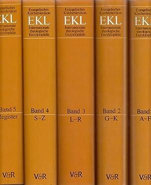 Evangelisches Kirchenlexikon - EKL - Internationale theologische Enzyklopädie in 5 Bänden...