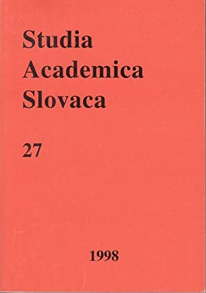 Studia Academica Slovaca 27. Prednasky XXXIV letneho seminara slovenskeho jazyka a kultury.: Mlacek...