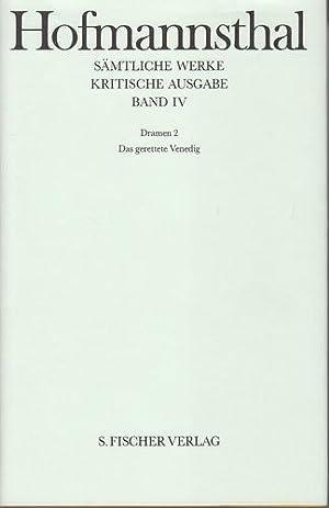 Hugo von Hofmannsthal - Sämtliche Werke. Kritische Ausgabe in 38 Bänden. Band XI. Dramen ...