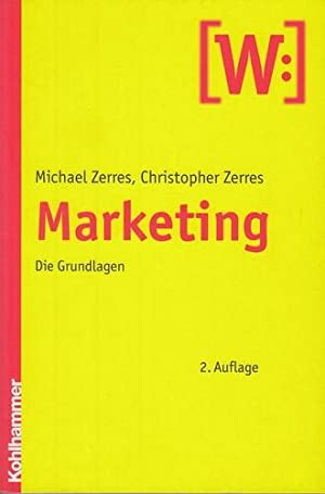 Marketing.: Zerres, Christopher und