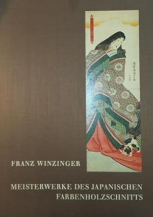Meisterwerke des japanischen Farbenholzschnitts. Veröffentlichungen der Albertina, Band IX.: ...