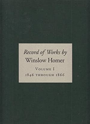 Record of Works by Winslow Homer, Volume: Booth Gerdts, Abigail,