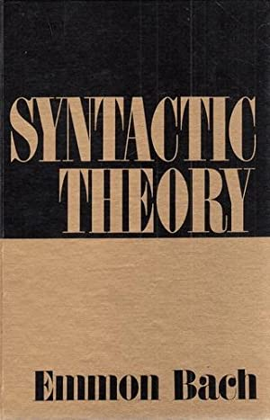 Syntactic Theory.
