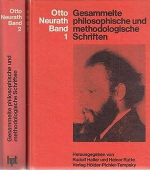 Gesammelte philosophische und methodologische Schriften. 2 Bände.: Neurath, Otto: