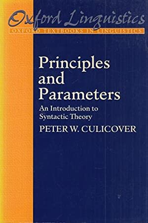 Principles and Parameters: An Introduction to Syntactic Theory. Oxford Textbooks in Linguistics.