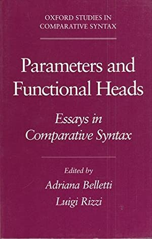 Parameters & Functional Heads: Essays in Comparative Syntax. Oxford Studies in Comparative Syntax.
