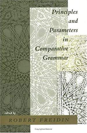 Principles and Parameters in Comparative Grammar. (Current Studies in Linguistics Series).