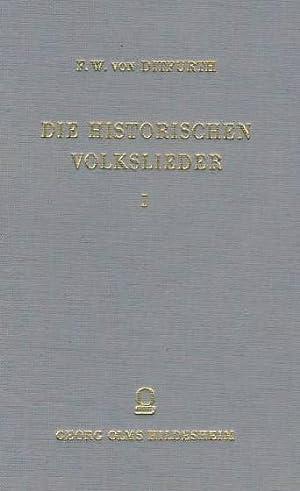 Die historischen Volkslieder der Zeit von 1648 bis 1871. 3 (drei) Bände. Heilbronn 1877 und ...
