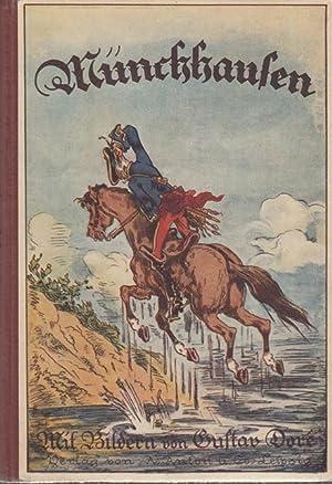 Münchhausens Abenteuer. Deutsche Schwankbücher, Buch 4.: Bürger, Gottfried August, Gustav...