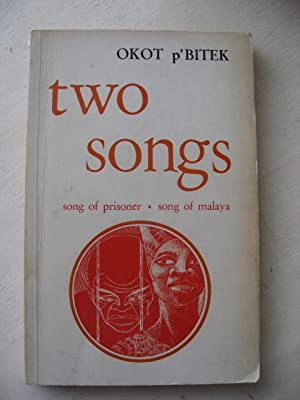 Two Songs Song of prisoner, Song of malaxa mit Widmung des Autors