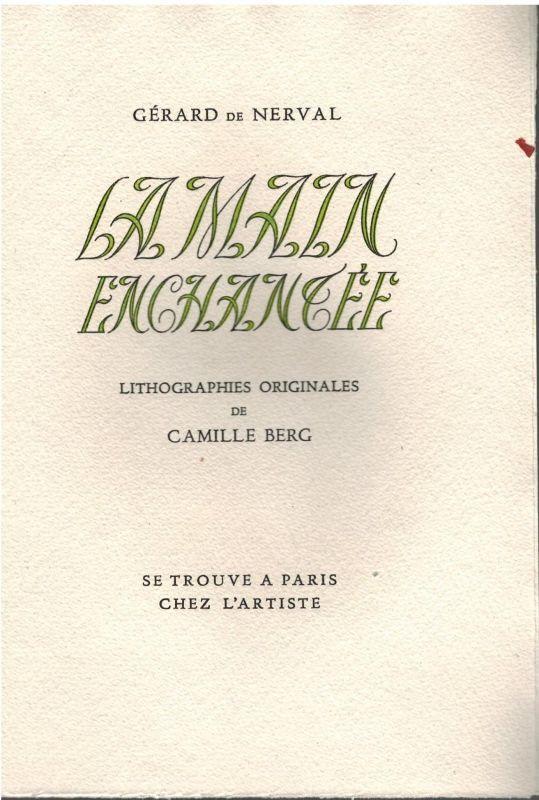 La Main Enchantée NERVAL (Gérard de) [ ] (bi_30123391540) photo