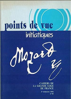 Points de vue initiatiques [Revue] : MOZART: BARAT (Michel) ;